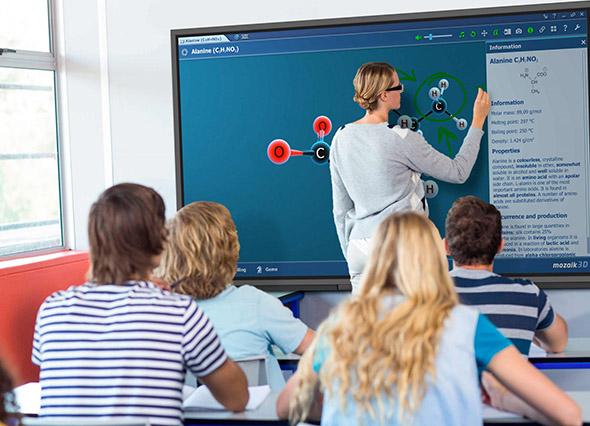 Interaktivni zaslon ATLAS učilnica